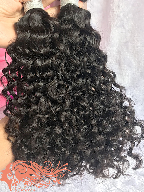 Csqueen 7A Exotic wave 16 Bundles 100% Human Hair Unprocessed Hair
