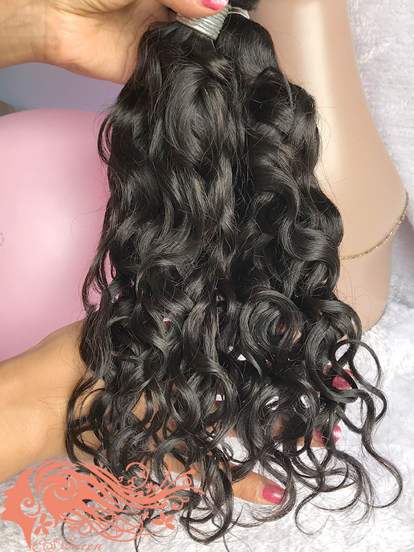 Csqueen 7A French Curly 18 Bundles Virgin Hair 100% Unprocessed Human Hair