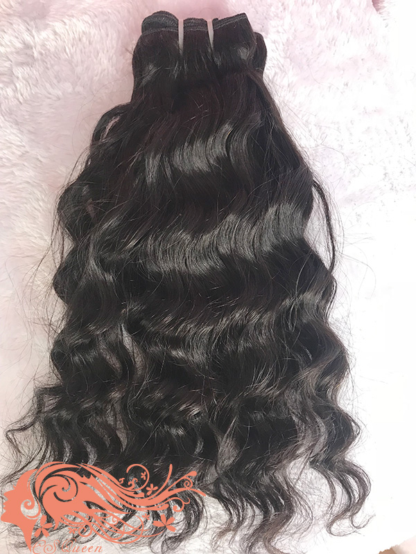 Csqueen 7A Majestic Wave Natural Black Color 100% Human Hair