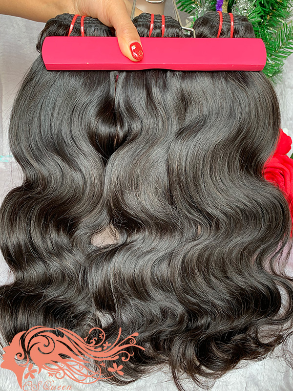Csqueen 8A Body Wave Hair Weave 7 Bundles Unprocessed Human Hair