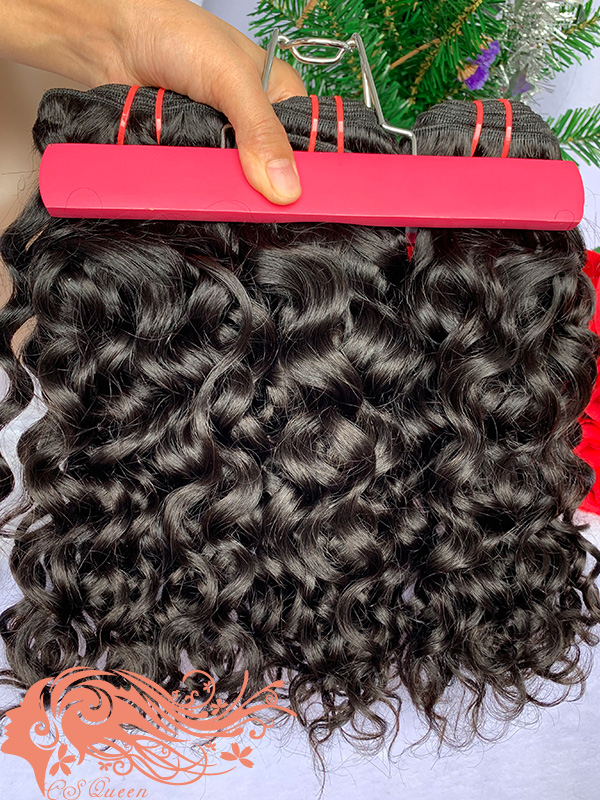 Csqueen 8A French Curly 8 Bundles Virgin Hair 100% Unprocessed Human Hair