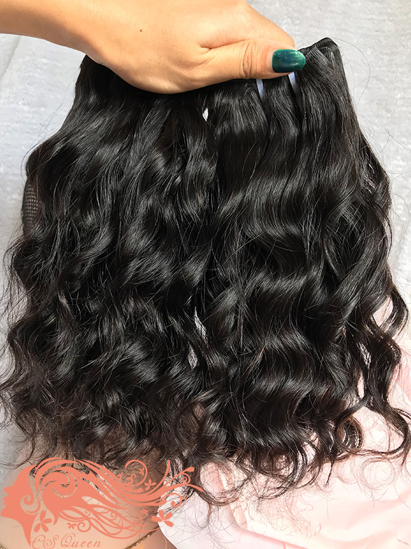 Csqueen 8A Majestic wave 4 Bundles 100% Human Hair Unprocessed Hair