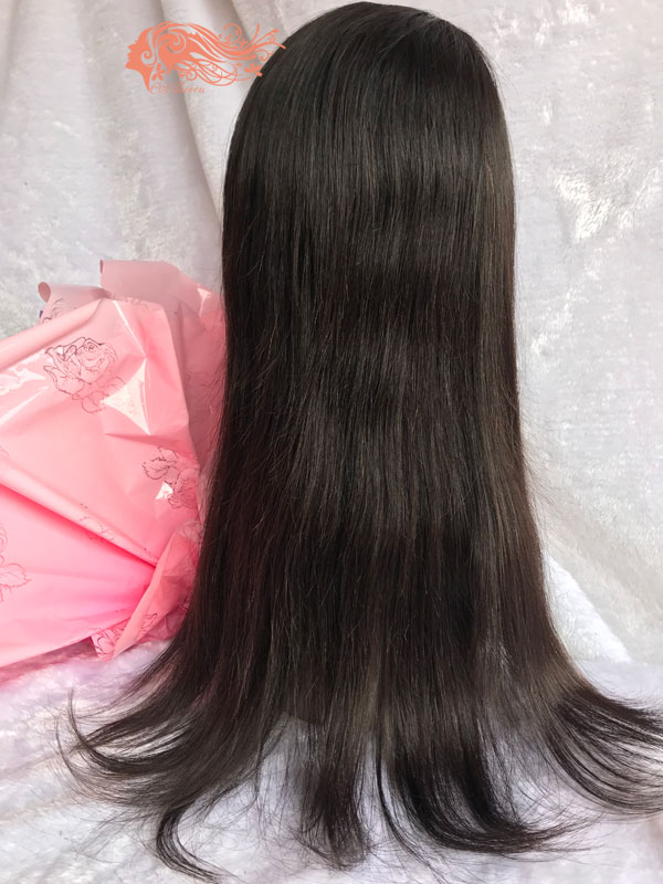 Csqueen 8A Straight Frontal WIG 100% Human Hair 150%density