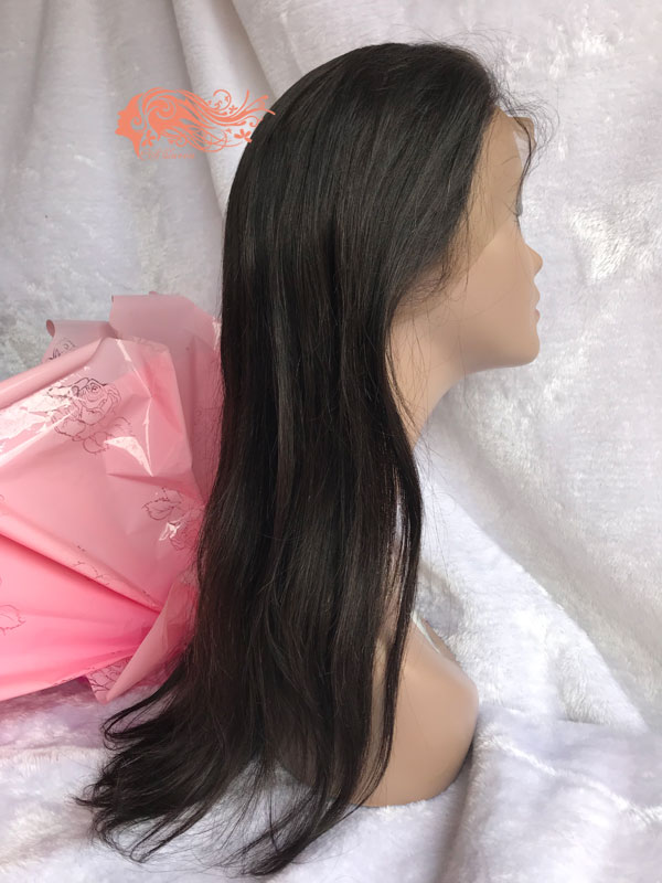 Csqueen 8A Straight Full lace WIG 100% Virgin Hair Human hair 150%density
