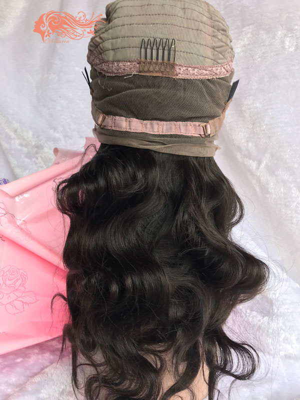 Csqueen 9A Body Wave 360 WIG 100% Virgin Human Hair 150%density