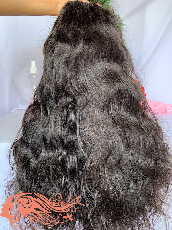Csqueen 9A Body Wave U part wig 100% Virgin Human Hair 180%density