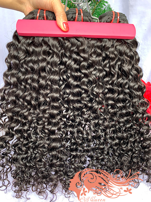 Csqueen 9A Exotic wave 3 Bundles 100% Human Hair Unprocessed Hair