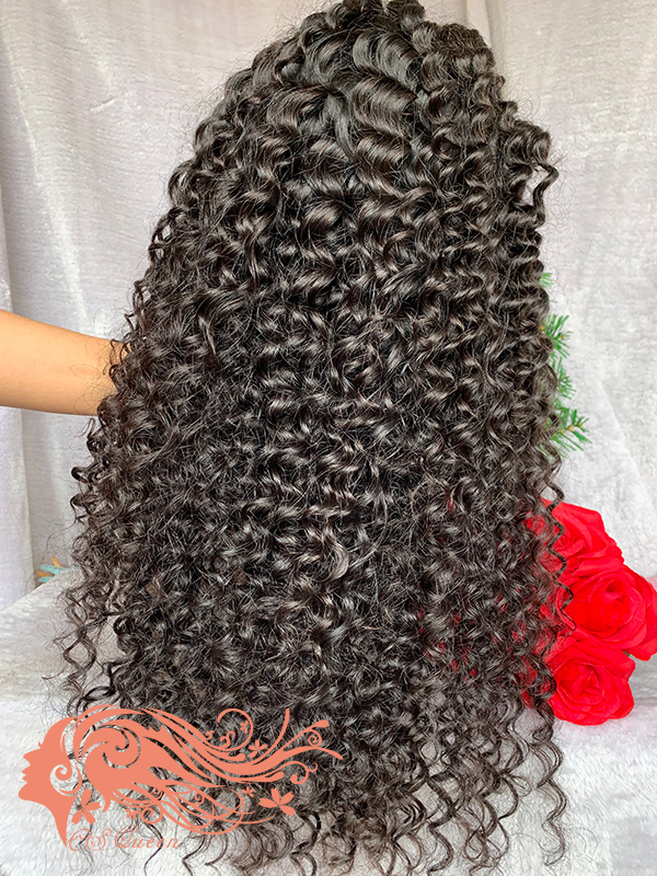 Csqueen 9A Exotic wave U part wig natural hair wigs 200%density