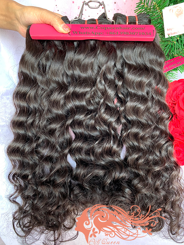 Csqueen 9A Majestic Wave 3 Bundles 100% Human Hair Unprocessed Hair
