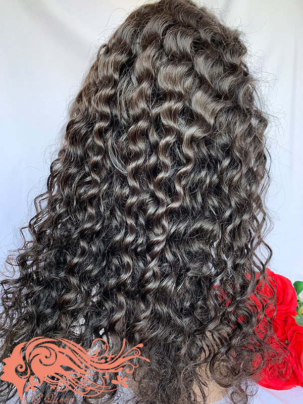 Csqueen 9A Majestic Wave U part wig real hair wigs 150%density