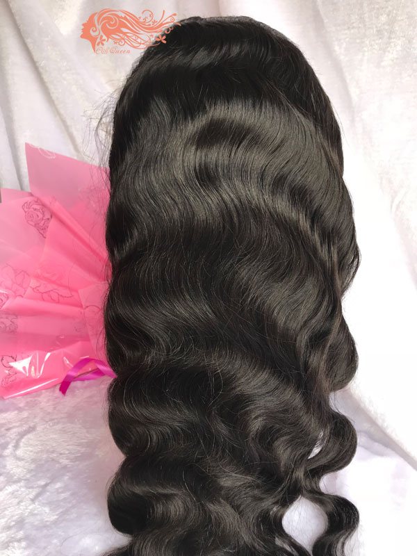 Csqueen Mink hair Ocean Wave Full lace WIG 100% Virgin Hair 150%density