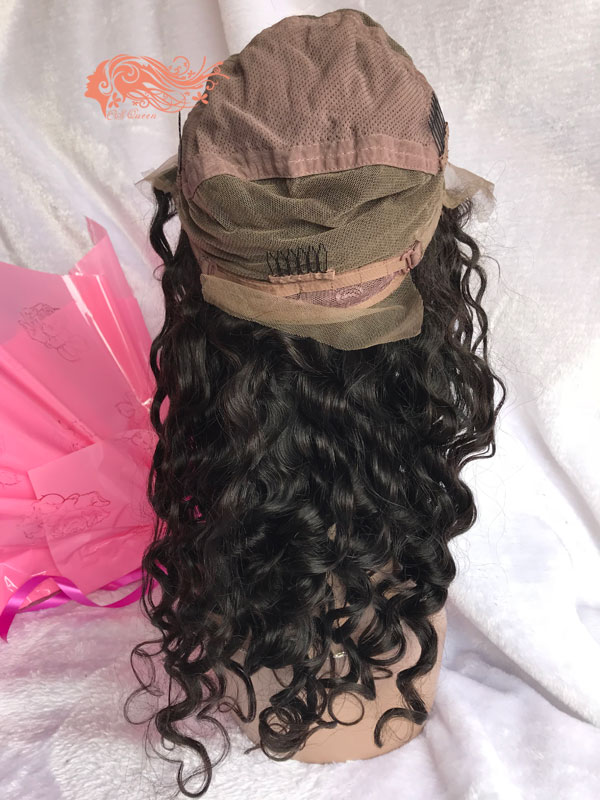 Csqueen Mink hair Paradise Wave Full lace WIG 100% Virgin Human Hair 150%density