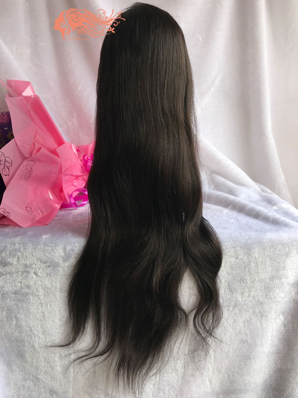 Csqueen Mink hair Straight Frontal WIG 100% Human Hair 150%density