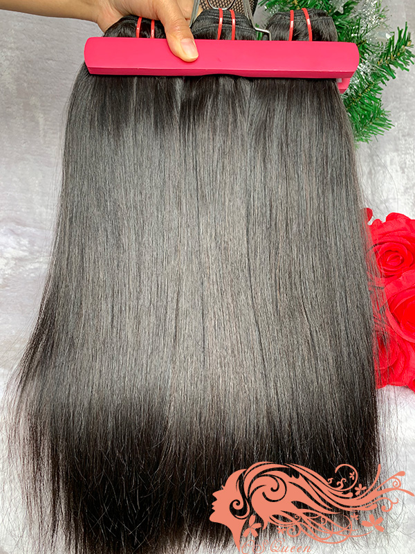 Csqueen 9A Straight hair 6 Bundles 100% Human Hair Unprocessed Hair