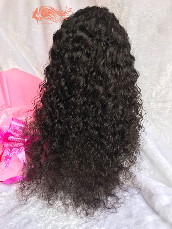 Csqueen Mink hair Water Wave Frontal WIG 100% Virgin Hair 150%density