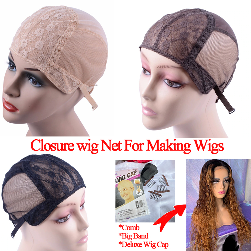 S/M/L Wig Caps For Making Wigs 1pcs /Lot Glueless Wig Caps