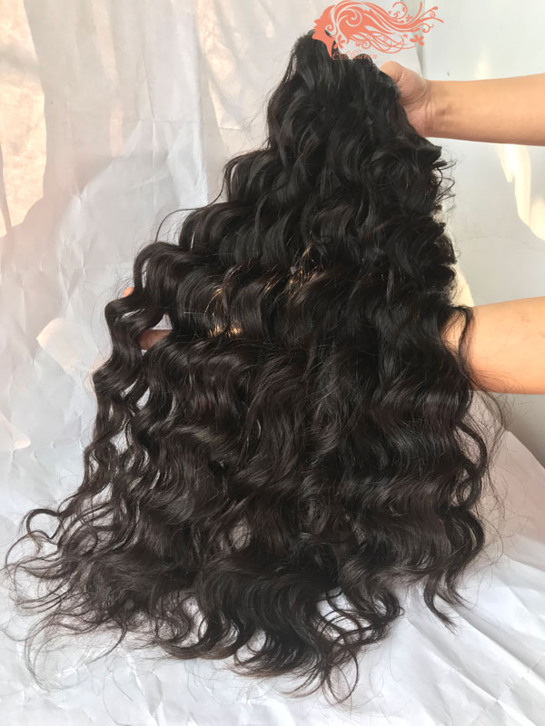 Csqueen 8A Majestic wave 3 Bundles 100% Human Hair Unprocessed Hair