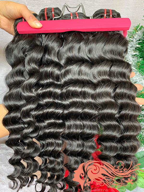 Csqueen Mink hair Paradise wave Hair Weave 6 Bundles Virgin Human Hair