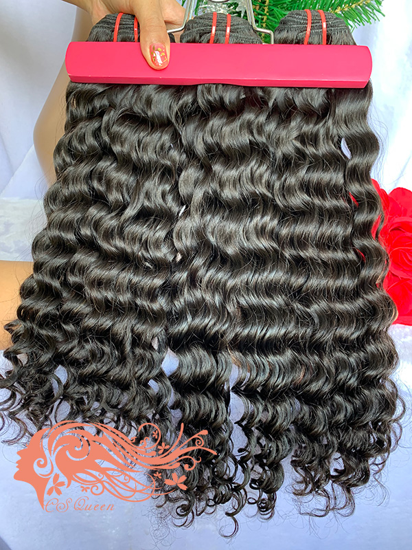 Csqueen Raw Bounce Curly 10 Bundles 100% human hair extensions
