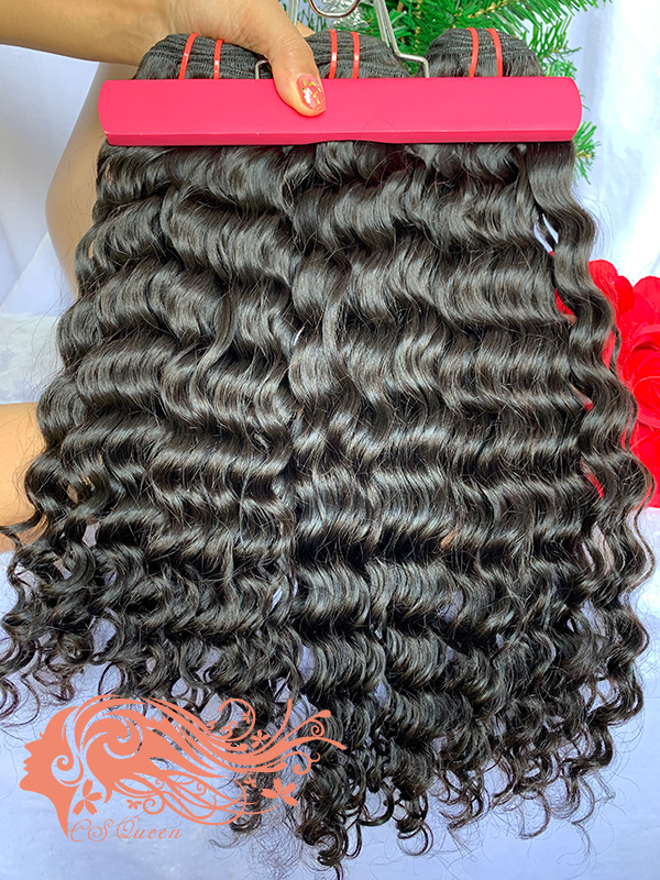 Csqueen Raw Bounce Curly 6 Bundles 100% human hair extensions