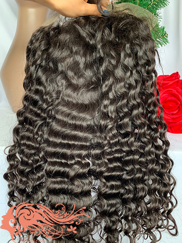 Csqueen Raw Bounce Curly Full lace WIG 100% Human Hair 200%density