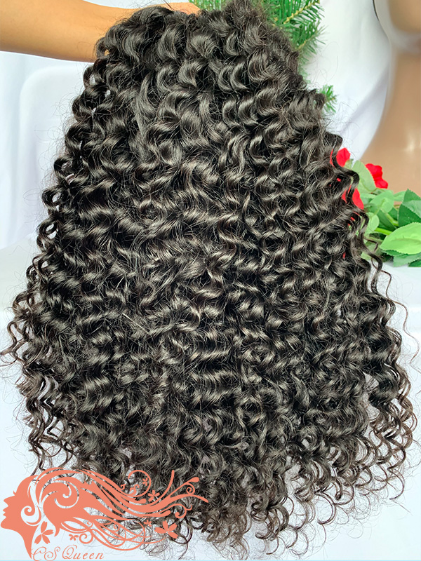 Csqueen Raw Bounce Curly U part wig 100% Human Hair 150%density