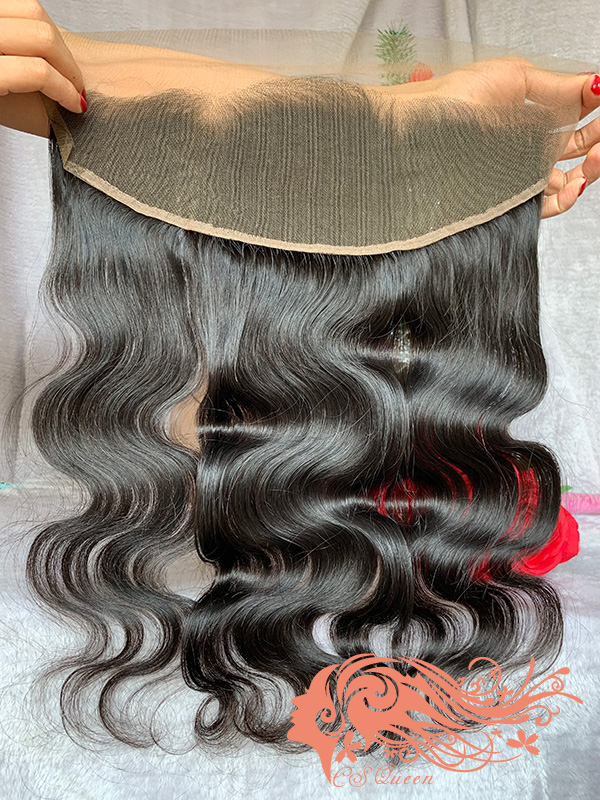 Csqueen Raw Line Wave Raw hair 13x4 Light Brown Lace Frontal 100% Unprocessed Hair